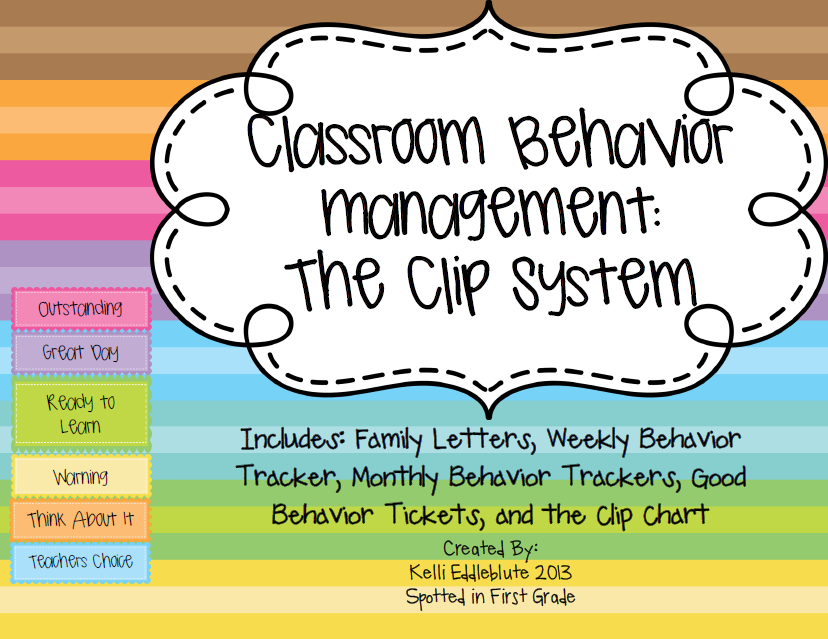 ClassroomBehaviorManagementTheClipSystemCoverPage - Effortless Systems For paperrater reviewingwriting - The Inside Track