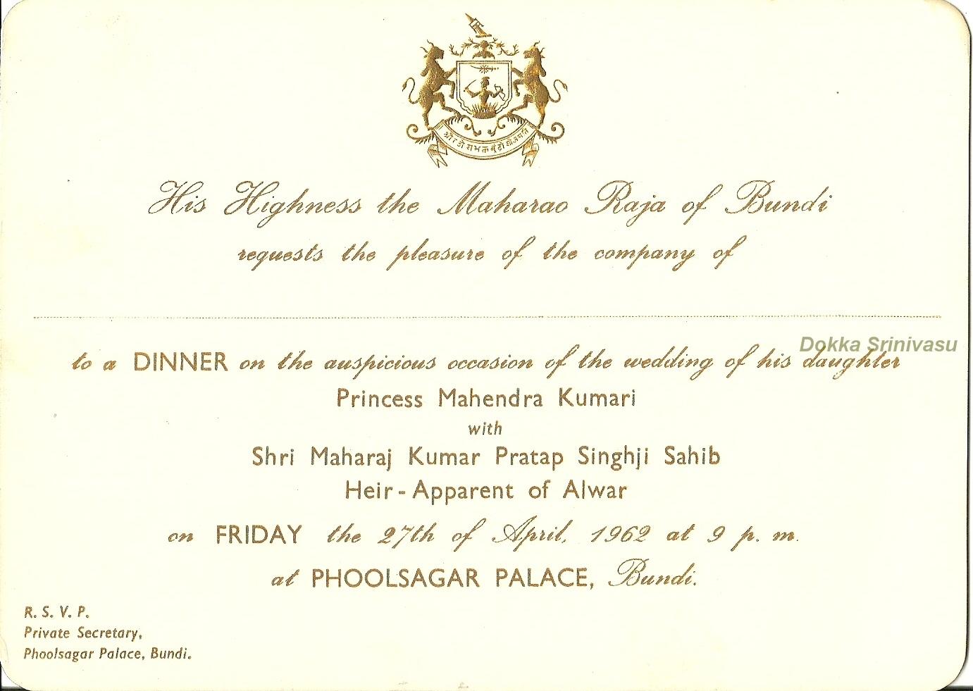 Heritage of India: Vintage Invitation Cards of India