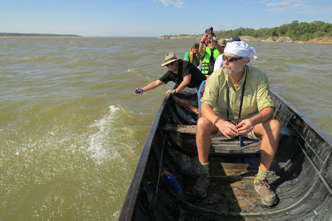 The crew behind the river dolphins of the Orinoco betwen Colombia and Venezuela