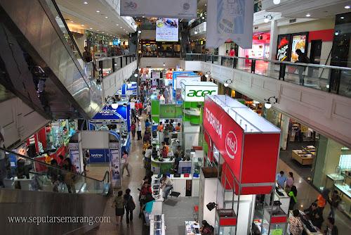 Foto Pameran Komputer Semarang Java Mall