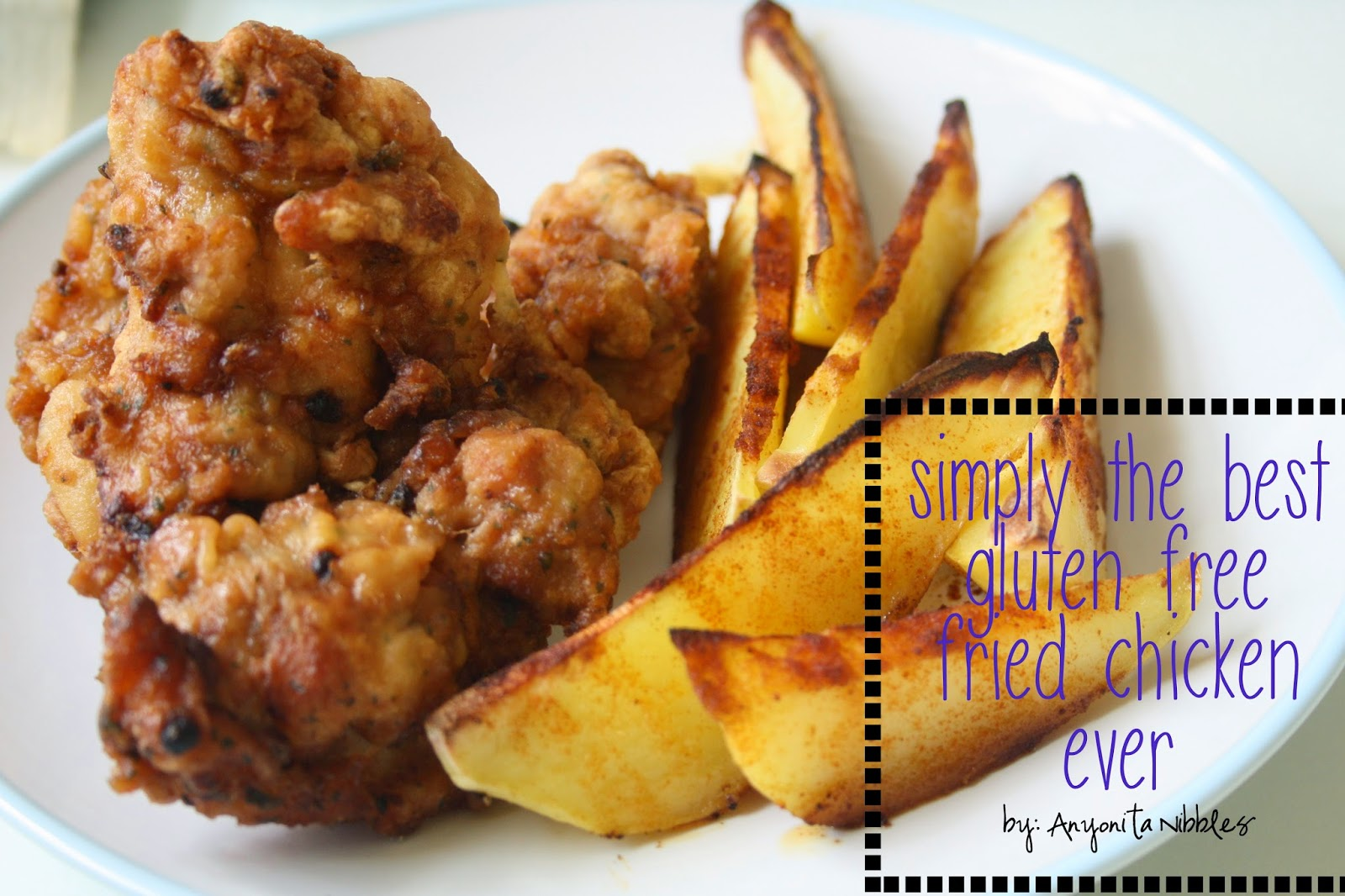 This gluten free and paleo fried chicken is simply the best you'll taste. From Anyonita Nibbles