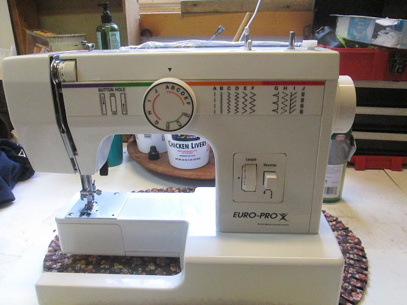 My Sewing Machine Obsession Euro Pro Solid Metal Construction Inspiration How To Thread Euro Pro Sewing Machine