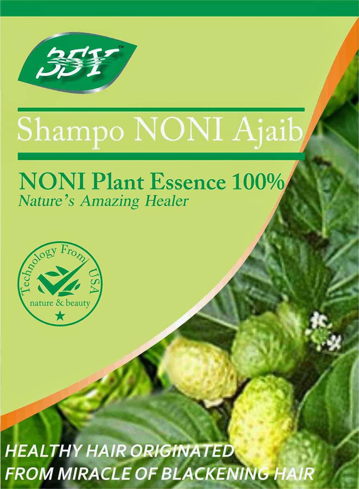 Manfaat Shampo Noni