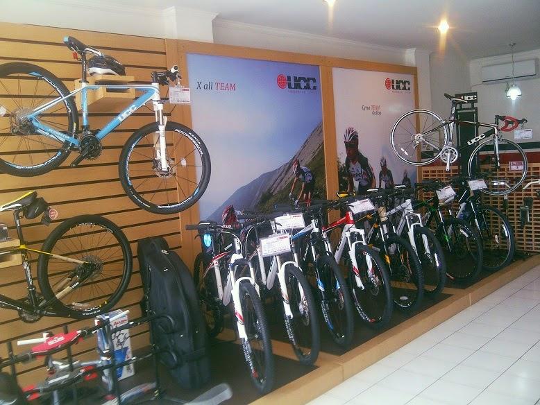 Toko Sepeda UCC Bike Denpasar menyediakan bermacam varian sepeda UCC ...
