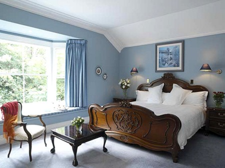 Bedroom Paint Design Ideas Delectable With Blue Bedroom Paint Color Ideas Image