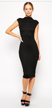 http://www.asos.com/asos/asos-midi-bodycon-dress-with-high-neck-in-texture/prod/pgeproduct.aspx?iid=4493956&clr=Black&SearchQuery=black+high+neck+dress&pgesize=36&pge=1&totalstyles=78&gridsize=3&gridrow=3&gridcolumn=2