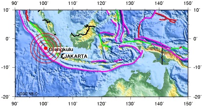 KEPULAUAN MENTAWAI REGION, INDONESIA earthquake 2012 September 14