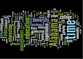 Erwin Coleman's Wordle About Himself