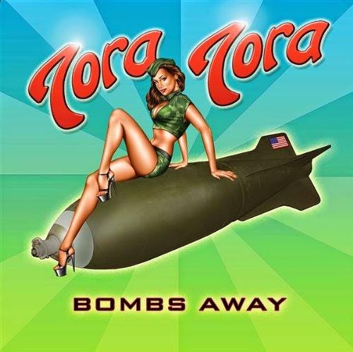 sexy woman riding a bomb