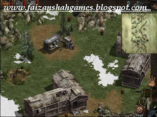 Commando behind enemy lines walkthrough