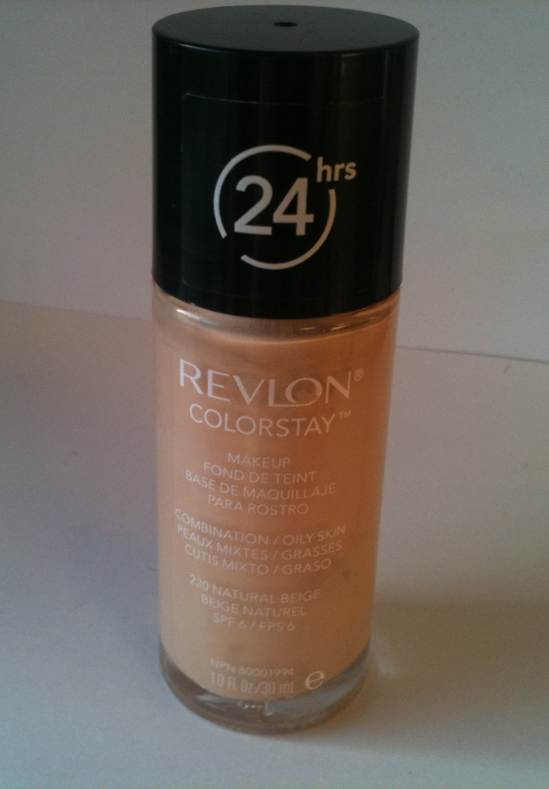 So i headed to Twitter, and most of you suggested the Revlon Colorstay foundation.