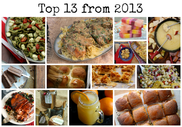 Top 13 from 2013 on www.girlichef.com