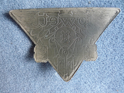 Jowett 1910 radiator badge
