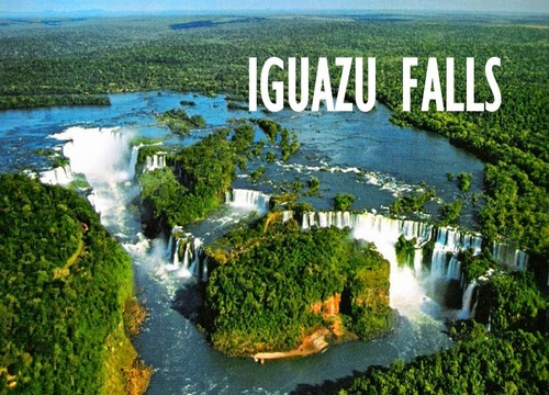 New7Wonders - Iguazu Falls