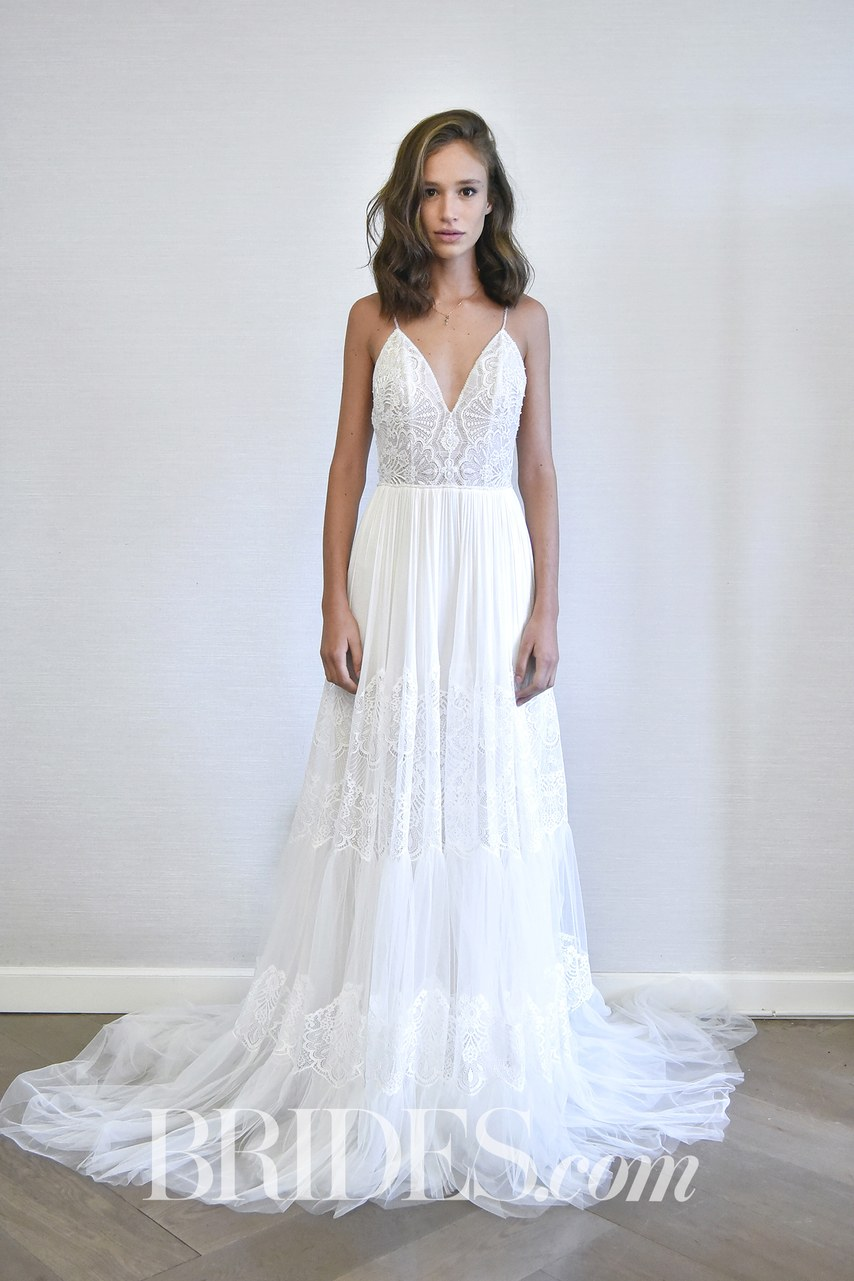 All the rave top picks from bridal fashion week spring for How much are watters wedding dresses