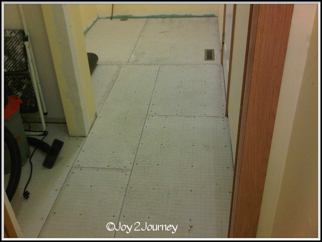 Painting Cement Board : Laying cement board before tiling paint joy journey