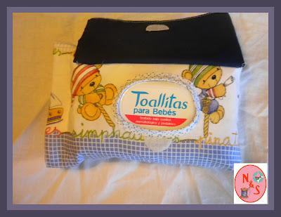 porta toallitas personalizada