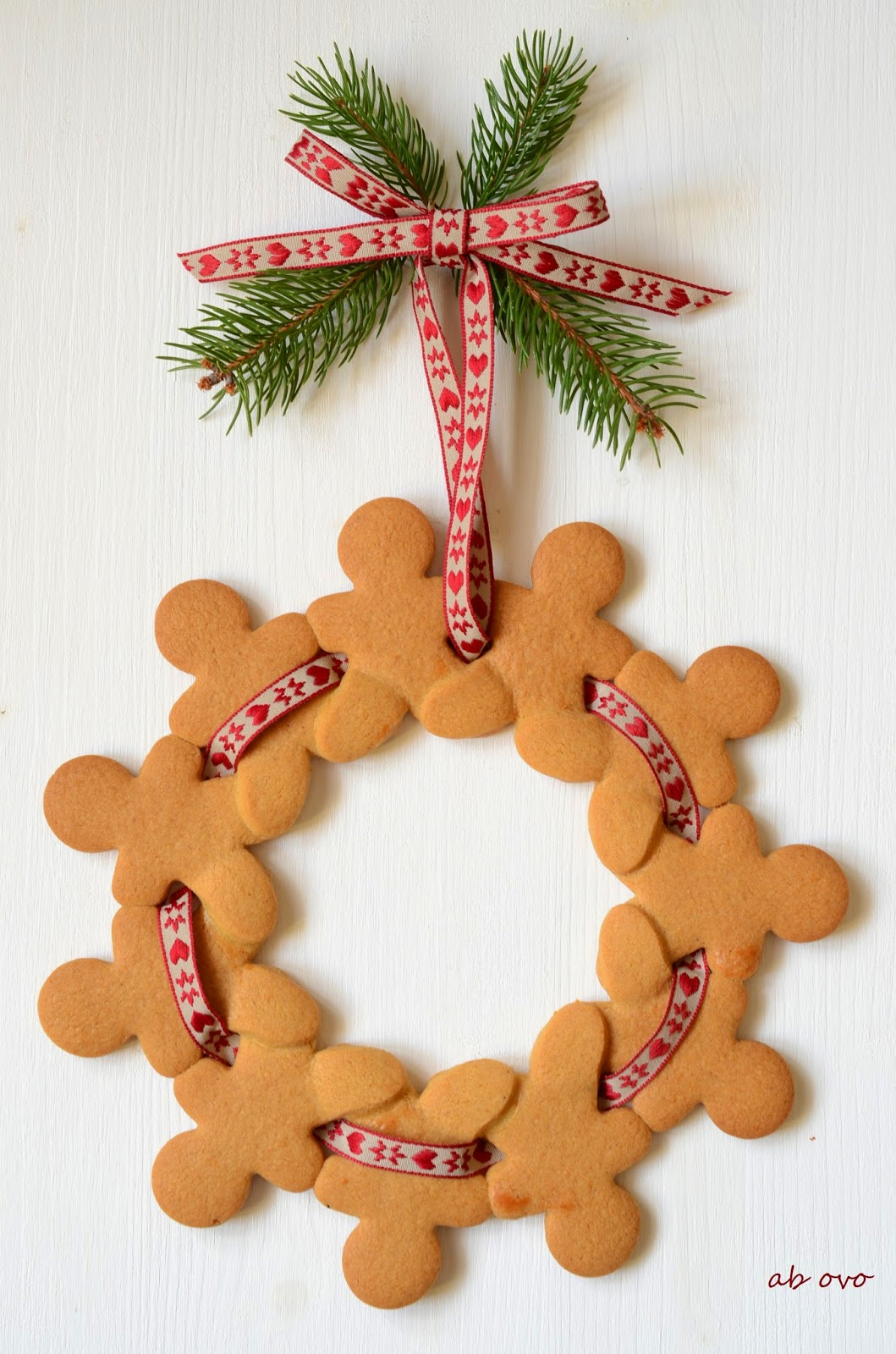 Gingerbreadmen-wreath
