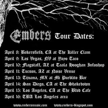 """Embers """"Shadows"""" FREE until April 8th"""
