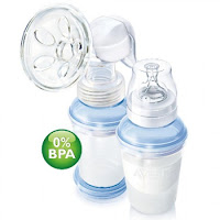 Avent Manual Breast Pump VIA Storage