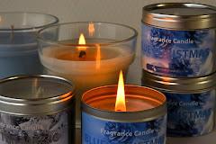 Soywax kaarsen en melts