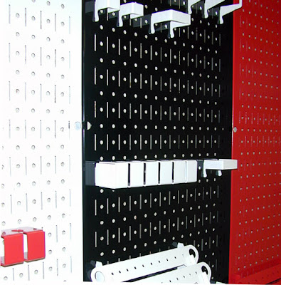 Pegboard for Sports Team