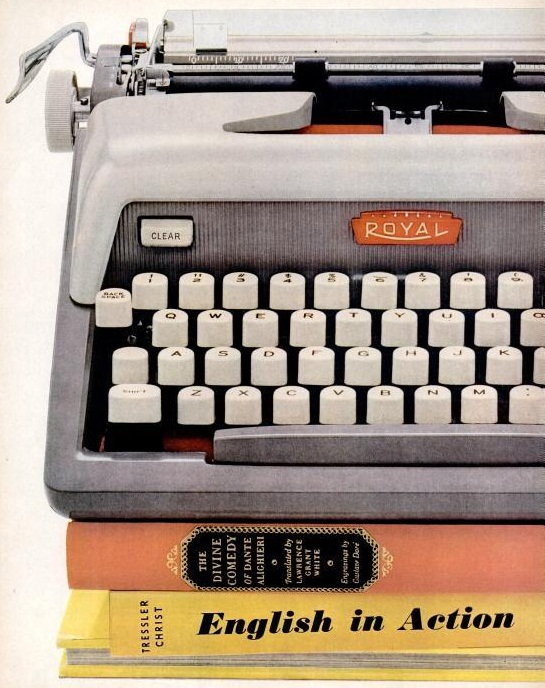 Electric Typewriter Royal 1960