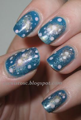Galaxy nails