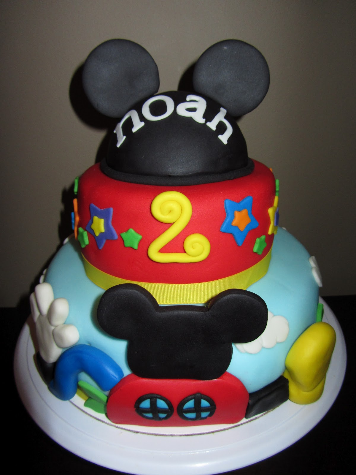 The Sweet Life Mickey Mouse 2nd Birthday Cake