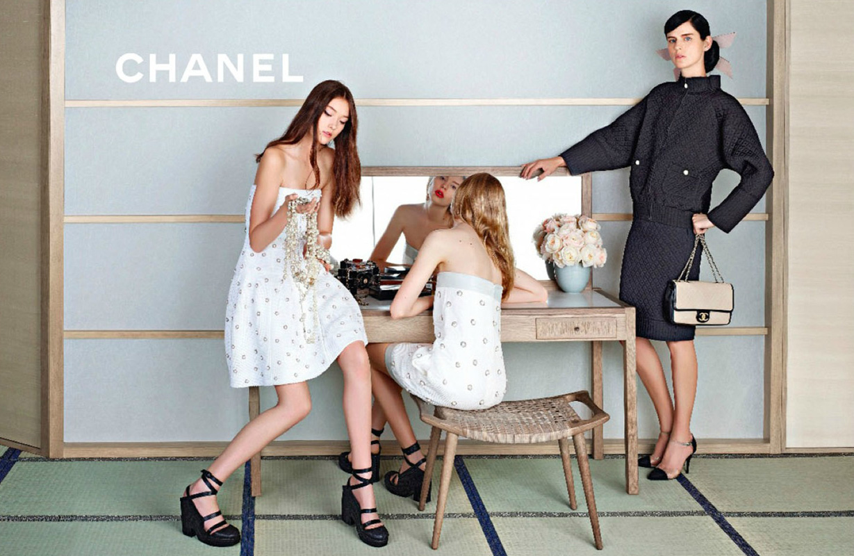 Tess 1 chanel spring summer 2013 ad caign