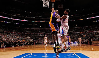 Kobe Bryant Steals Ball, Dunks On Chris Paul
