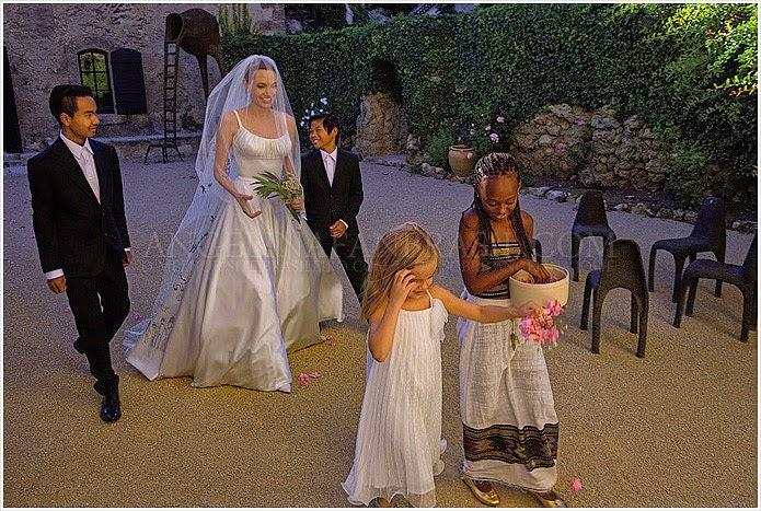 Feyonced: Angelina Jolie Secret Wedding to Brad Pitt- All ...