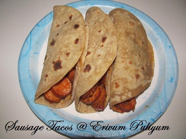 Taco mexican wraps