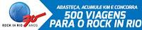 Promoção Ipiranga 500 viagens para o Rock in Rio
