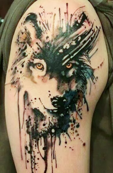 The Best Wolf Tattoos (Gallery 3)