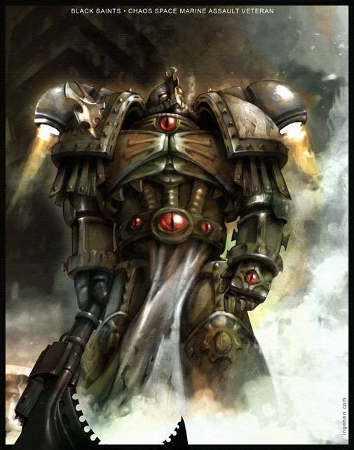 [W40K] Collection d'images : Space Marines du Chaos Chaos+space+marine