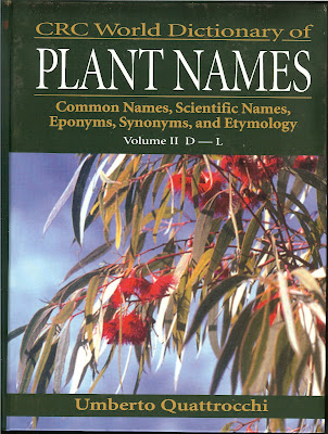 CRC World Dictionary of Plant Names - Umberto Quattrocchi?