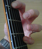 A5 guitar power chord