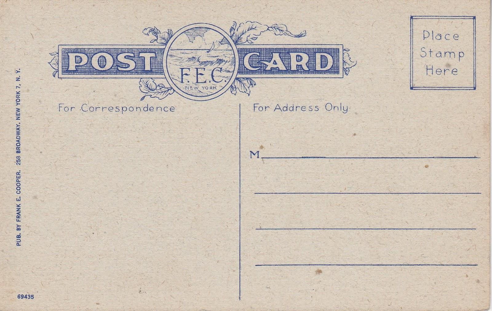 Greetings from Long Beach Long Island, NY Vintage Postcard