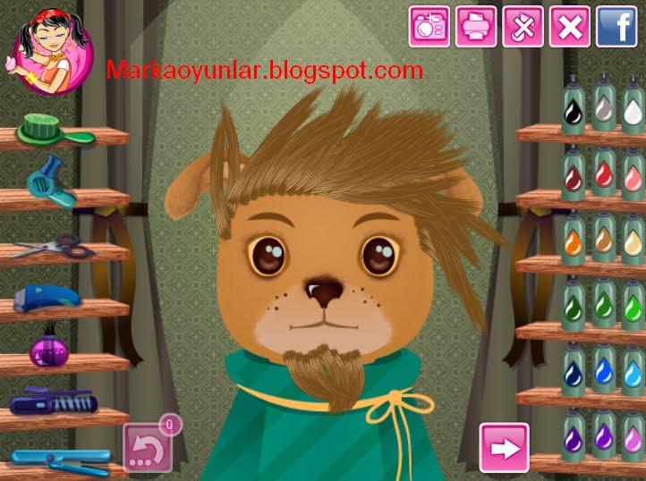 Игры для девочек бесплатно прически животные