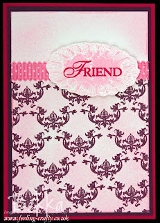 Affection Collection Friendship Card by Stampin' Up! Demonstrator Bekka Prideaux