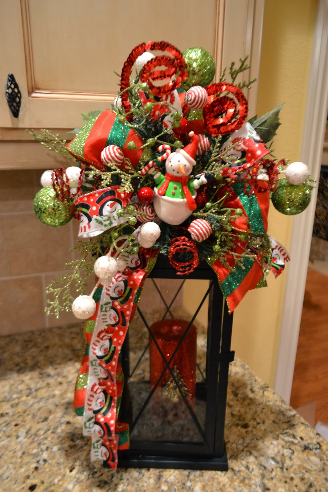 Kristens Creations Christmas Lantern Swags