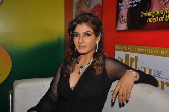 raveena tandon launches 8th higje glamour  images
