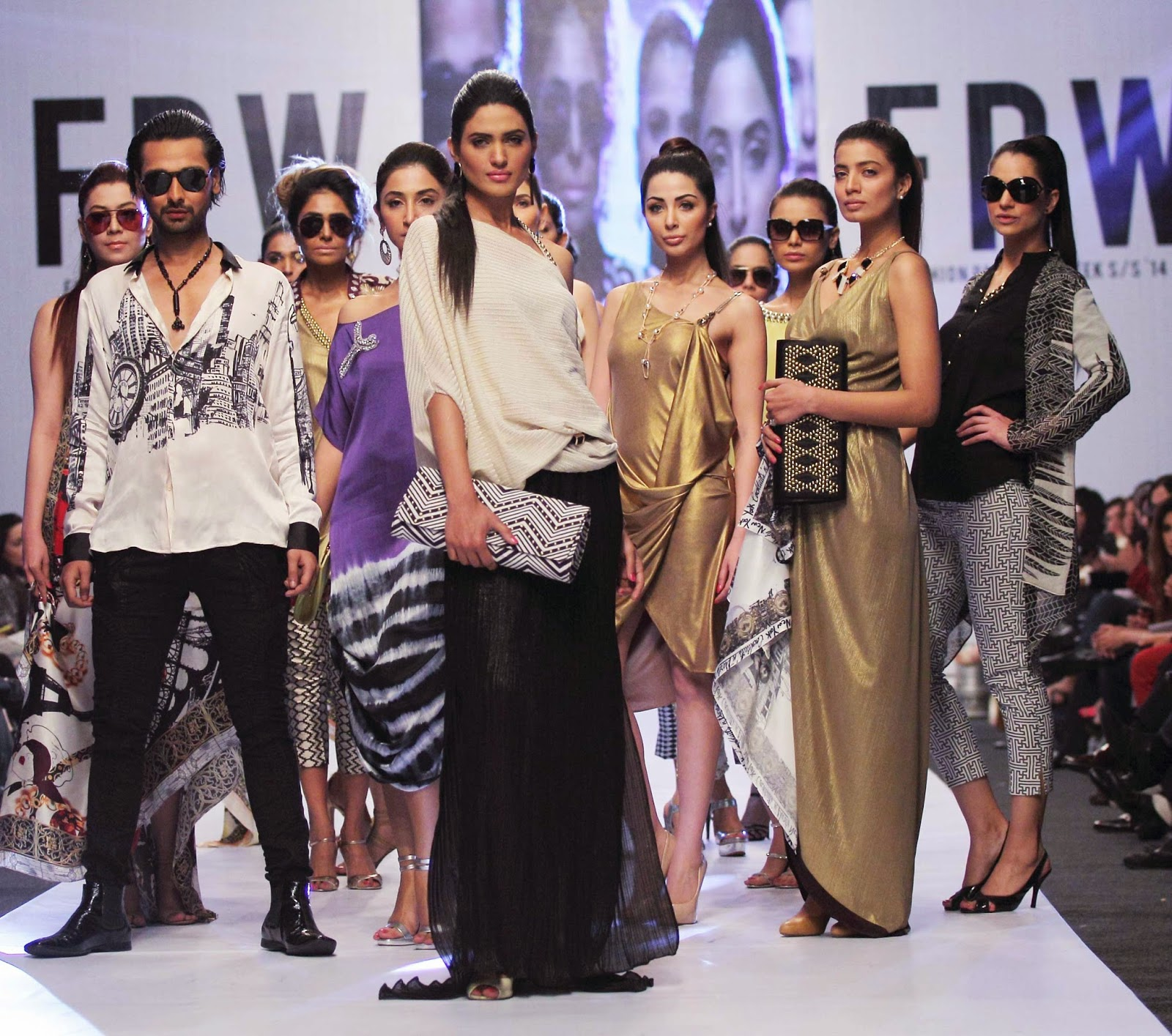 Deepak Perwani - Fashion Pakistan Week 6 - Spring 2014
