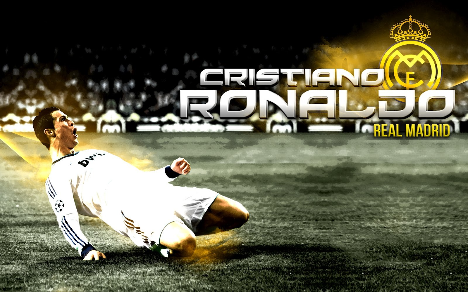 Cristiano Ronaldo Real Madrid New HD Wallpapers 2013-2014