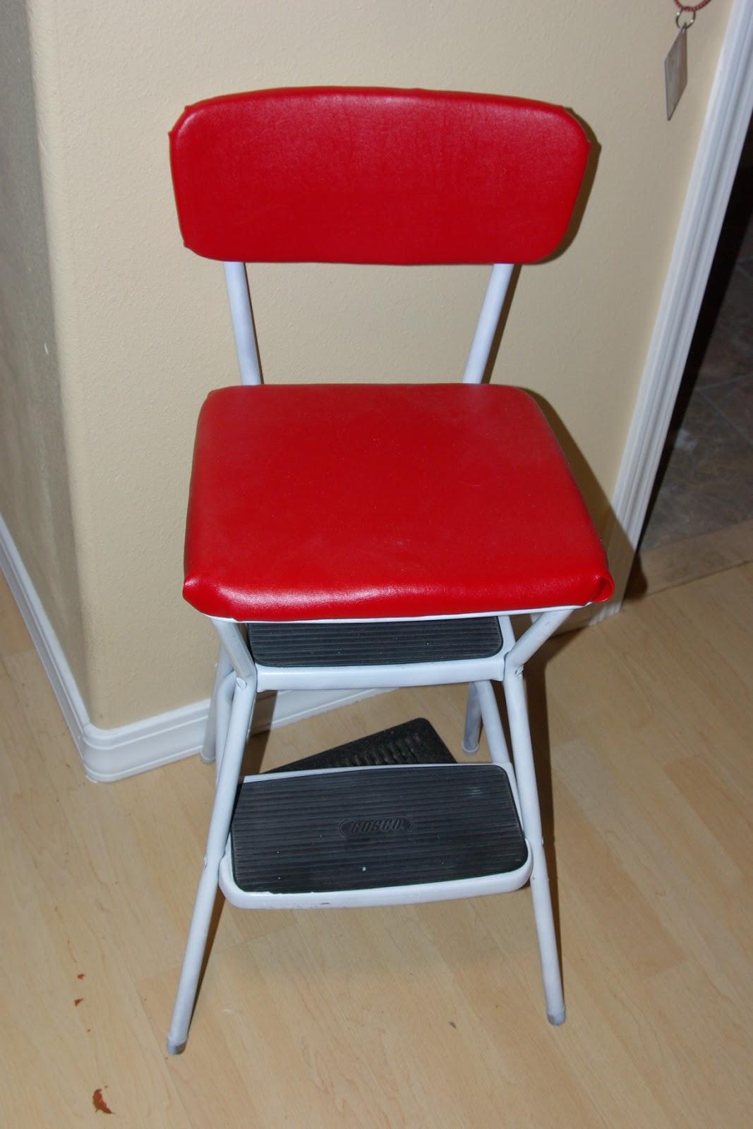 reclaimed rustics mid century cosco step stools chairs