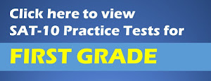 SAT Practice Tests for First Grade