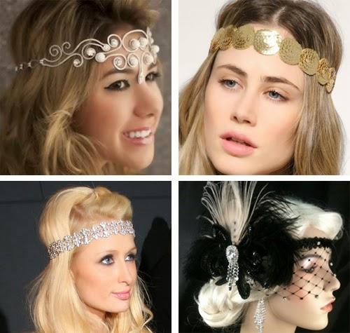acessórios femininos de cabelos para carnaval headbands