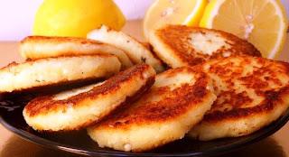 Нежные лимонные сырники