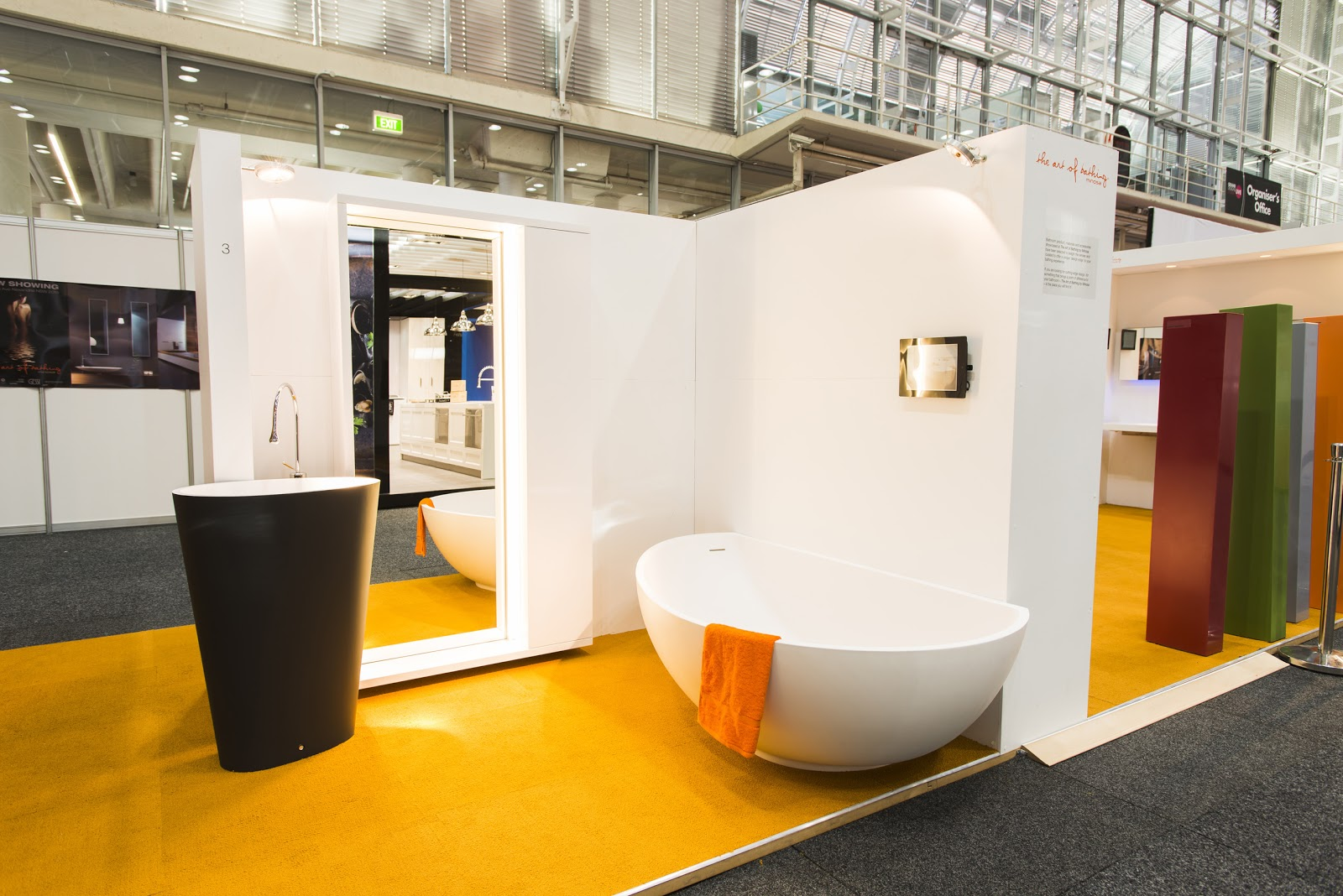 Minosa new minosa bathroom design resort style ensuite - Introduces The All New Body Freestanding Washbasin And The Vanity Back To Wall Bath Proving That Geometry In Bathroom Design Can Influence Emotion And